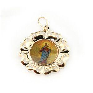 pandantiv placat cu aur, colectia Golden Shine-331O711