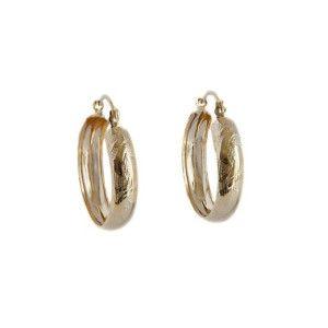 Noella, Cercei placati cu aur de 18 K, colectia Golden Shine