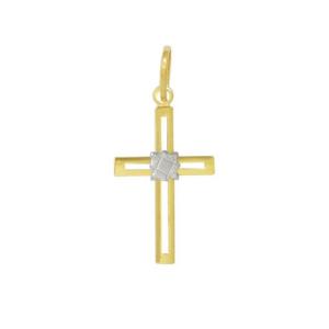 Pandantiv placat cu aur de 18 k, 2 microni, productie Brazilia-4967O76