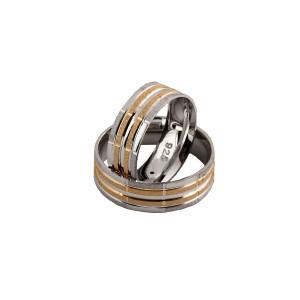Verigheta argint 925, together forever, placata cu rodiu si partial cu aur galben