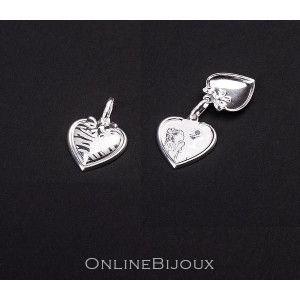 Pandantiv argint 925, design italian,  reprezinta o fetita la momentul primei impartasanii- 5507O728
