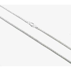 Lant argint 925, design italian, model rotund alb diamantat - 5618O339
