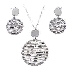 Milano trend, set argint 95, rodiat - 5956o5150