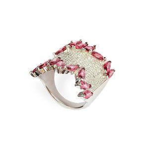 Pink Yasmine, iel argint 925, design italian