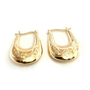 Dorothea, Cercei placati cu aur de 18 k, colectia Golden Shine Brazil