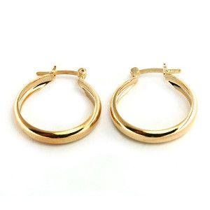Cercei placati cu aur, colectia Golden Shine-6622O821