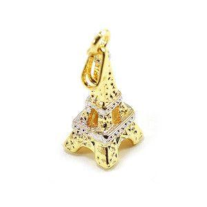 pandantiv placat cu aur, colectia Golden Shine-6645O79