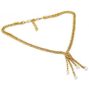 Colier placat cu aur de 18 k, colectia Golden Shine Brazil - 6671O3140