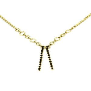 Colier placat cu aur, colectia Golden Shine-6923O3125