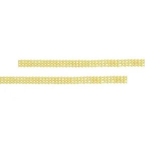 Bratara placata cu aur 18k, productie Brazilia - 6957O437