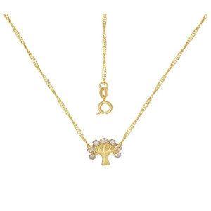 Colier placat cu aur, colectia Golden Shine-7254O316