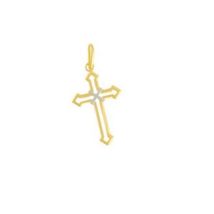 Pandantiv placat cu aur de 18 k, 2 microni, productie Brazilia - 7343O77