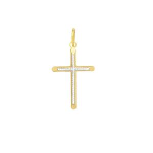 Pandantiv placat cu aur de 18 k, 2 microni, productie Brazilia-7347O712