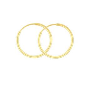 Cercei placati cu aur de 18 k, colectia Golden shine -7349O810