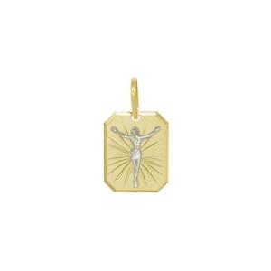 Pandantiv placat cu aur de 18 k, 2 microni, productie Brazilia 7504O710