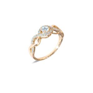 Inel placat cu aur de 18 K, colectia onlinebijoux, 7634O923