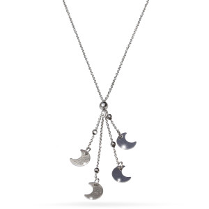 Colier argint 925, rodiat , lungime lant 42 cm, lungime 6 cm , fara pietre - 7697O359