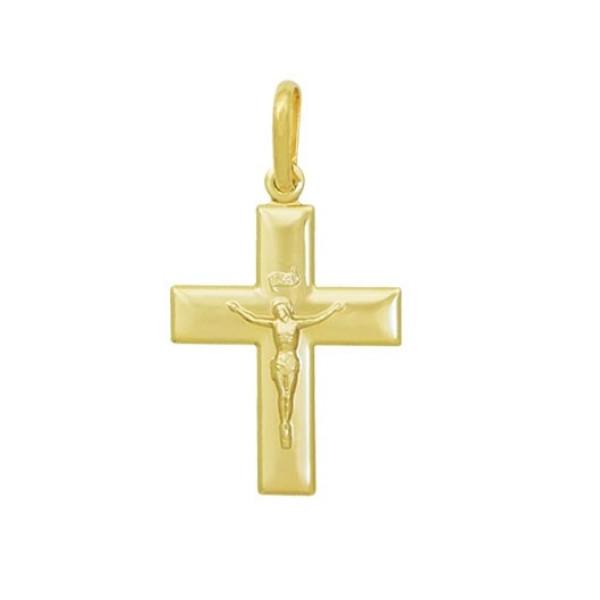 Pandantiv placat cu aur de 18 K, 2 microni, productie Brazilia-  7566O711