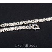 Colier argint 925 rodiat, design italian - 5619O3270