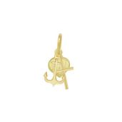 pandantiv placat cu aur, colectia Golden Shine-5791O77