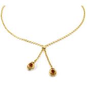 Colier placat cu aur, colectia Golden Shine-6680O3110