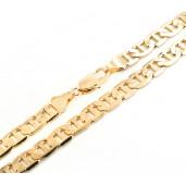 Lant placat cu aur de 18 k, 2 microni, productie Brazilia , colectia Onlinebijoux- 690O3100