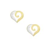 Cercei placati cu aur de 18 k, colectia Golden shine -7351O811